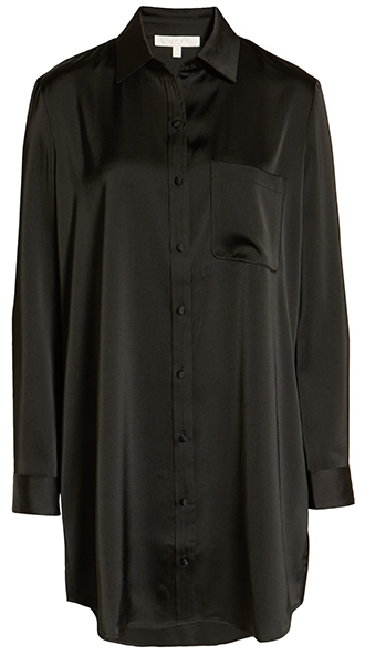 WAYF shift shirtdress | 40plusstyle.com