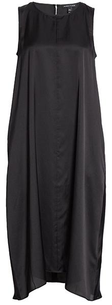 Eileen Fisher silk blend shift dress   40plusstyle.com
