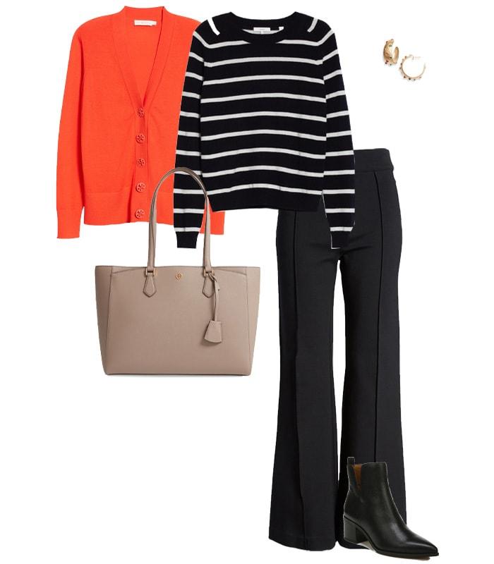 Bold cardigan colors | 40plusstyle.com