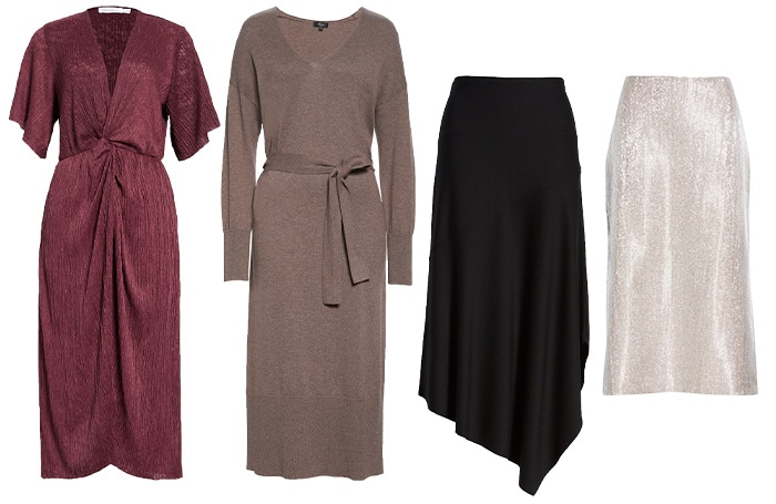 capsule wardrobe dresses and skirts | 40plusstyle.com