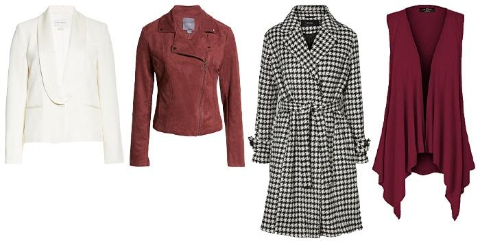 capsule wardrobe outerwear | 40plusstyle.com