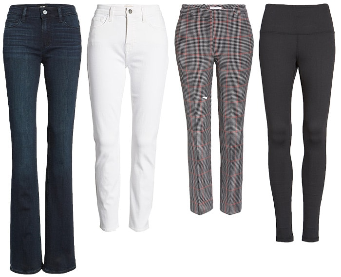 capsule wardrobe pants and jeans | 40plusstyle.com