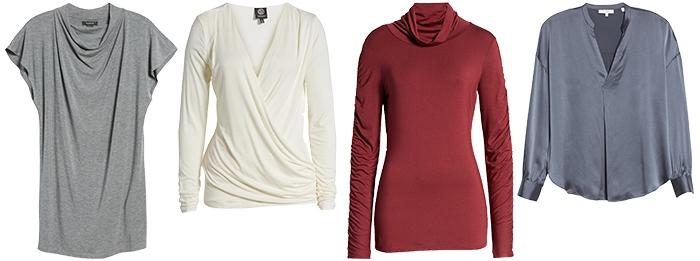 capsule wardrobe tops | 40plusstyle.com