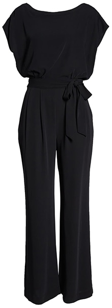 Eliza J cap sleeve wide leg jumpsuit | 40plusstyle.com