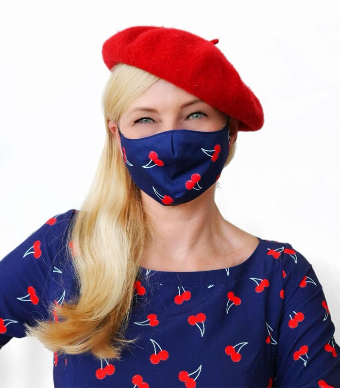 How to celebrate responsibility and in style this holiday season by choosing the best face mask as the perfect accessory | 40plusstyle.com
