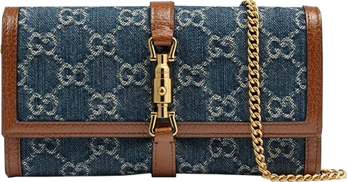 Gucci Jackie 1961 chain wallet   40plusstyle.com
