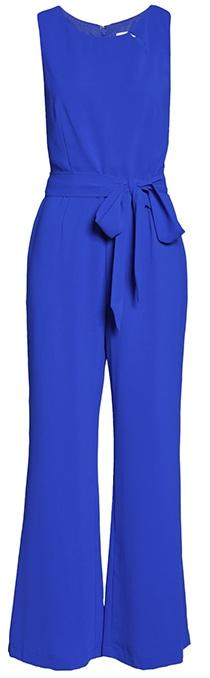 Stylish clothes - blue jumpsuit | 40plusstyle.com