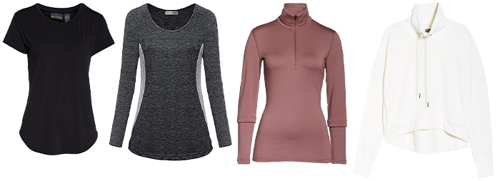 Hiking outfits for women - tops | 40plusstyle.com