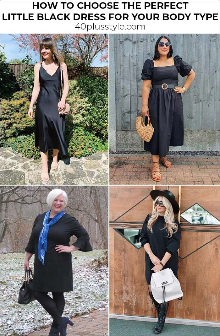 How to choose the perfect little black dress for your body type   40plusstyle.com