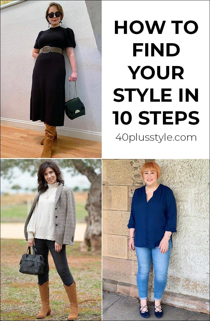 How to find your style in 10 steps   40plusstyle.com
