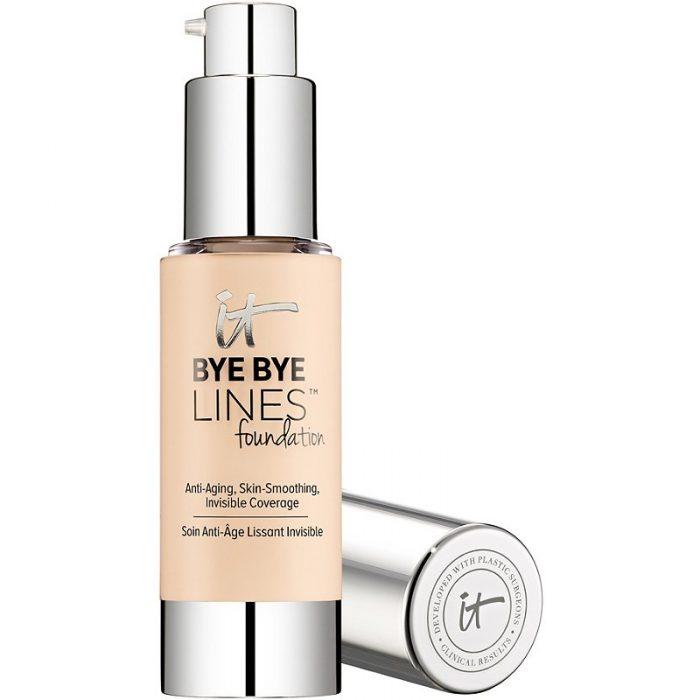 It Cosmetics Bye Bye Lines Sheer Liquid foundation   40plusstyle.com