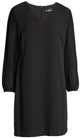 Perfect little black dress for the apple shape | 40plusstyle.com