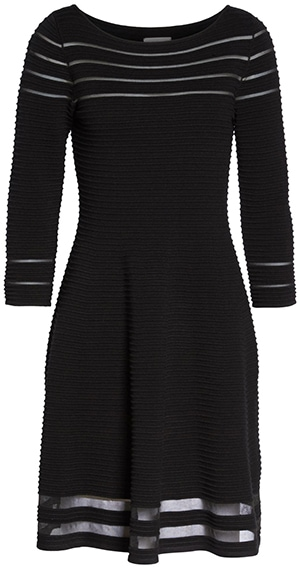 Perfect little black dress for the hourglass figure   40plusstyle.com