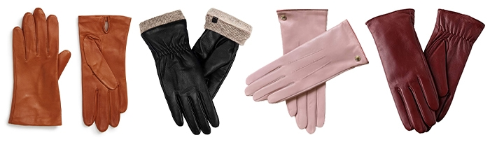Leather gloves for women | 40plusstyle.com