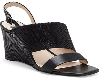 Louise et Cie wedge sandal | 40plusstyle.com