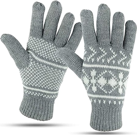 Luther Pike Seattle knit winter gloves | 40plusstyle.com