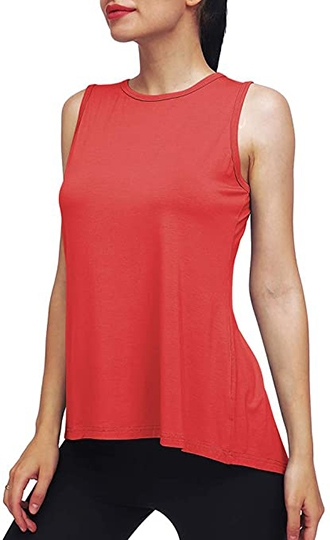 Mippo workout tank top | 40plusstyle.com