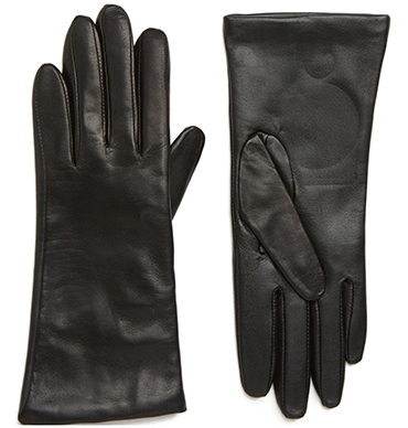 Nordstrom cashmere lined leather touchscreen gloves | 40plusstyle.com