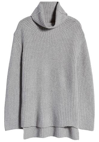 Nordstrom cozy turtleneck sweater | 40plusstyle.com