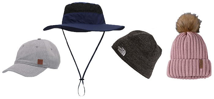 Hats to wear on a hike | 40plusstyle.com