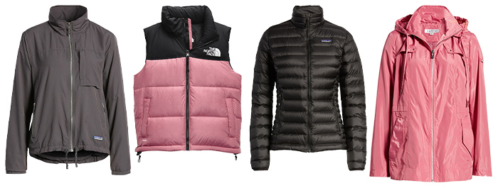 Hiking outfits for women - coats and jackets | 40plusstyle.com