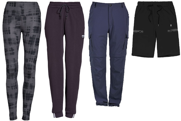 Hiking outfits for women - pants and leggings | 40plusstyle.com
