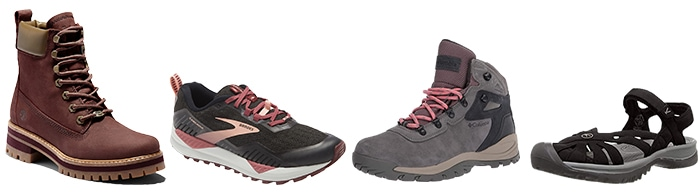 Shoes and boots to wear on a hike | 40plusstyle.com
