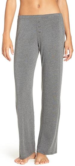PJ Salvage jersey pajama pants | 40lplusstyle.com