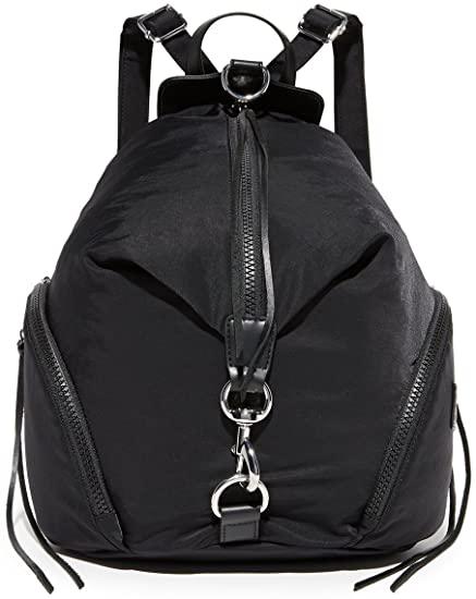Rebecca Minkoff nylon Julian backpack   40plusstyle.com