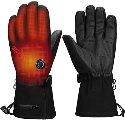 VELAZZIO Thermo1 battery heated gloves  | 40plusstyle.com