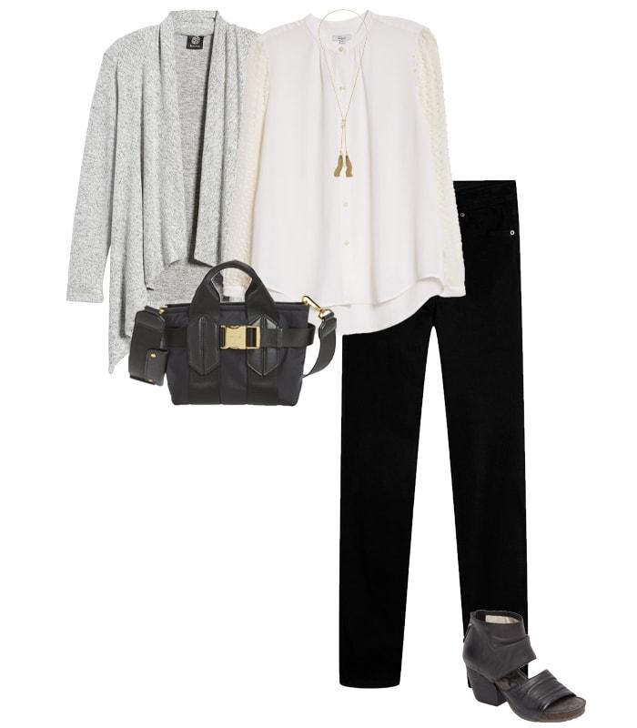Waterfall knitwear | 40plusstyle.com