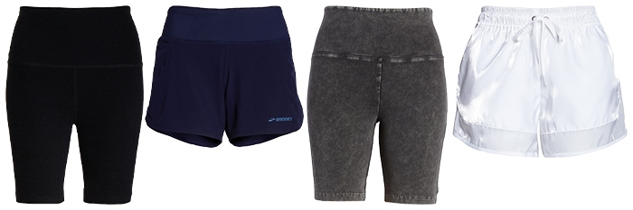 Workout shorts | 40plusstyle.com