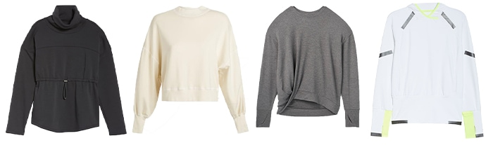 Workout sweaters | 40plusstyle.com