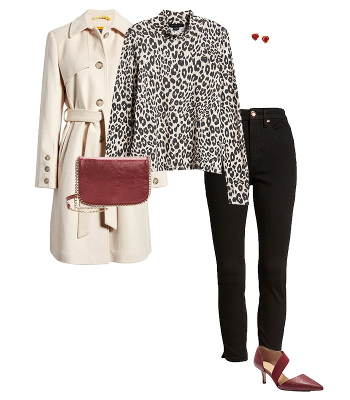 Jeans and heels outfit | 40plusstyle.com