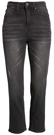 BP. high waist crop straight leg jeans | 40plusstyle.com