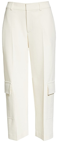 Wardrobe essentials - Club Monaco cargo crop pants   40plusstyle.com