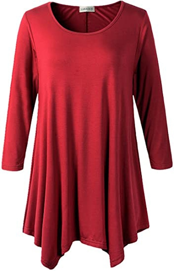 LARACE tunic top | 40plusstyle.com