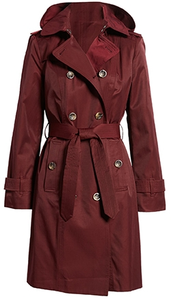 London Fog double breasted trench coat   40plusstyle.com