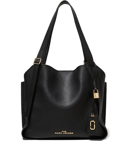 The Marc Jacobs leather tote   40plusstyle.com