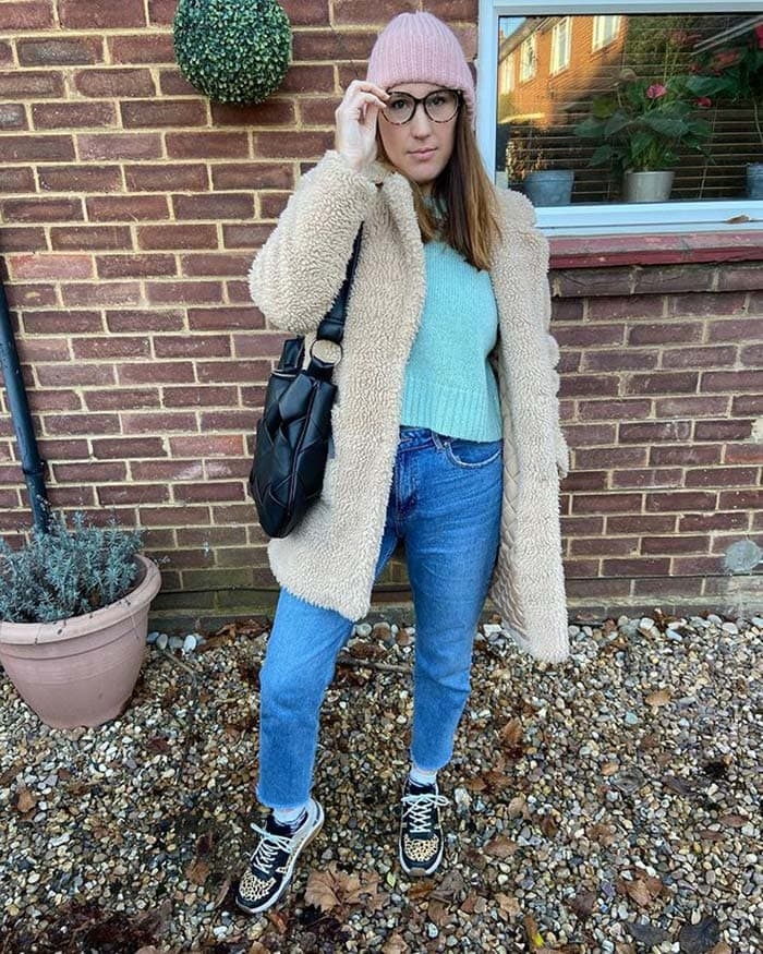 Melissa shows how to wear a wool hat | 40plusstyle.com