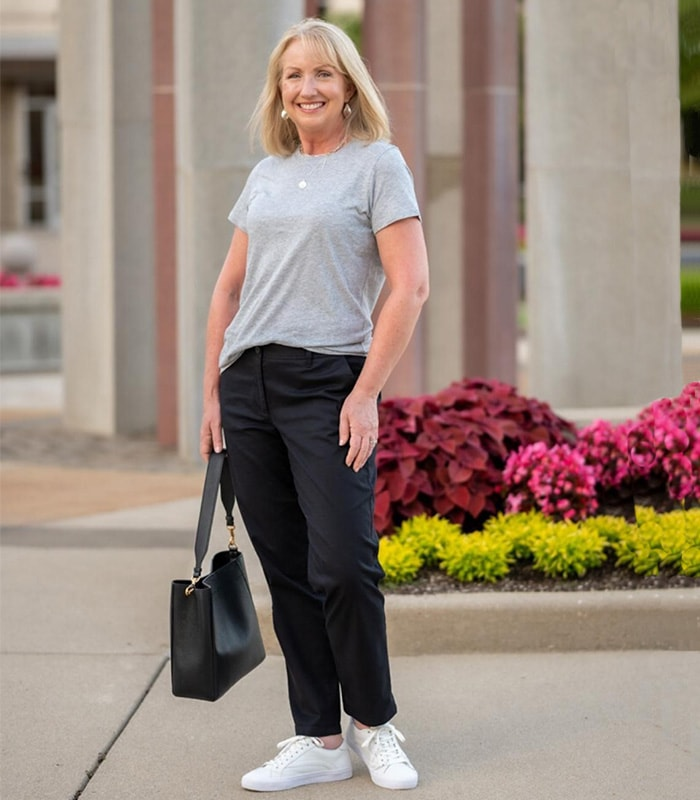 A capsule wardrobe and style guide for the natural style personality   40plusstyle.com