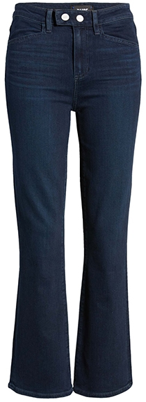 PAIGE Claudine high waist ankle flare jeans | 40plusstyle.com