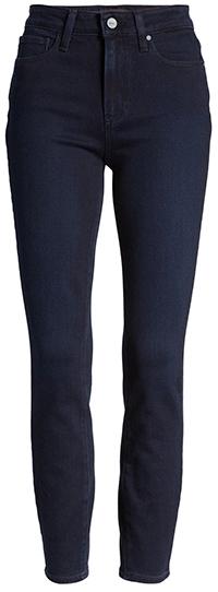 PAIGE Hoxton high waist skinny jeans | 40plusstyle.com