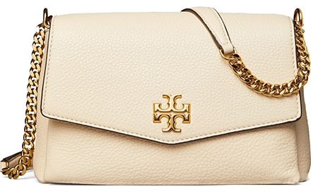Tory Burch leather convertible crossbody bag | 40plusstyle.com