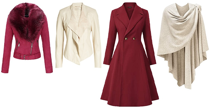 how to dress for Valentine's day - outwears   40plusstyle.com