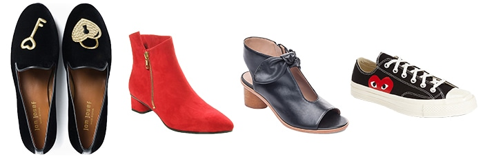 Shoes and boots for Valentine's   40plusstyle.com