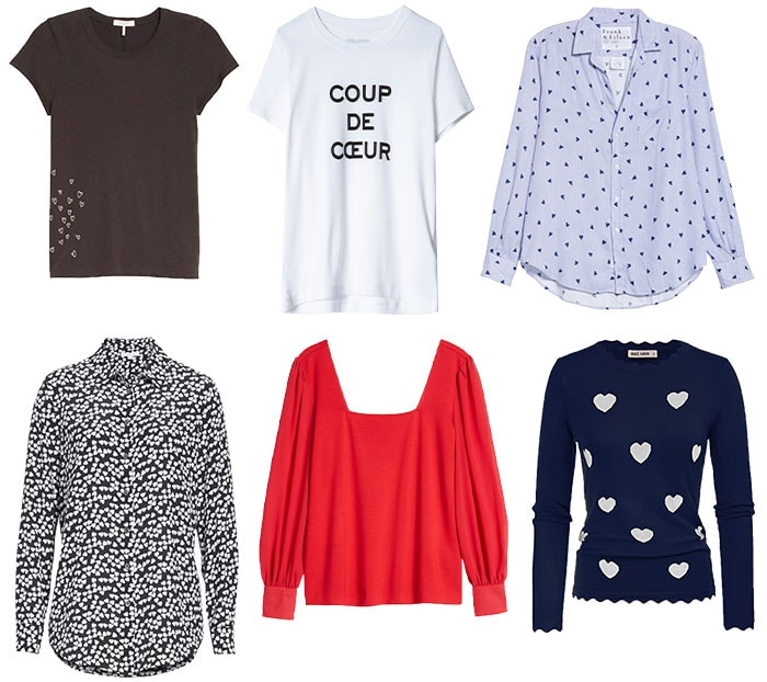 Tops to wear for Valentine's Day   40plusstyle.com