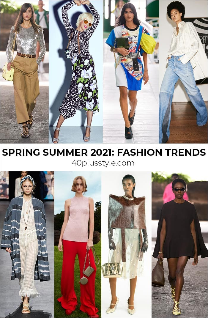 Spring Summer 2021 fashion trends: 20 stylish trends and one I'll be avoiding | 40plusstyle.com