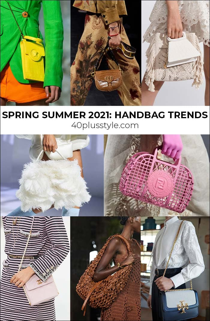Bag trends 2021 - the best handbag styles for spring and summer | 40plusstyle.com