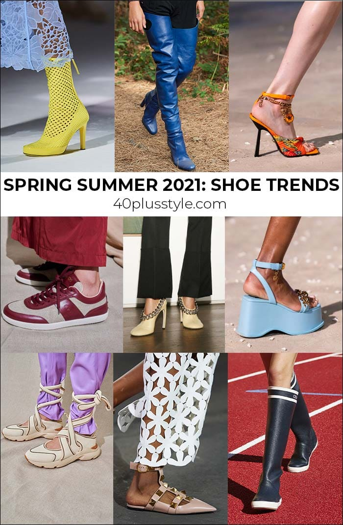 Shoe trends 2021 - the most stylish shoes to wear this spring and summer this year   40plusstyle.com